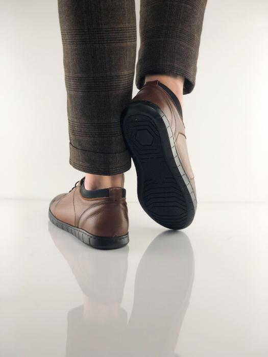 Pantofi sport din piele Brown Bear 7