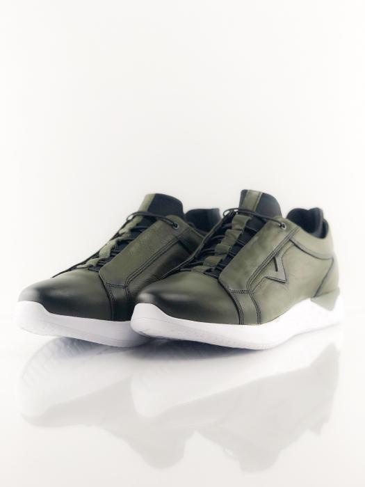 Pantofi sport din piele Green Archer 5