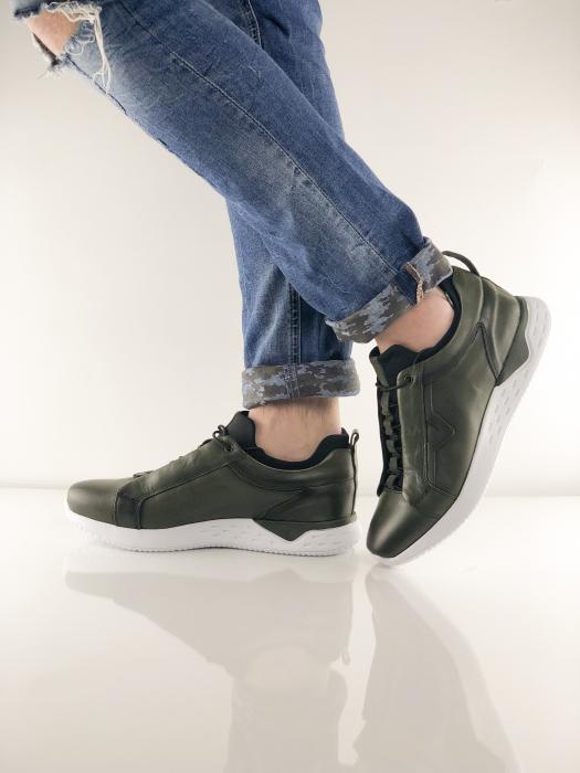 Pantofi sport din piele GREEN ARCHER 6