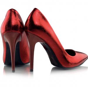 Pantofi Arina Rosii2