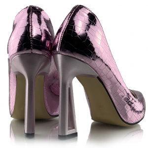 Pantofi Glory  Croco Lila2