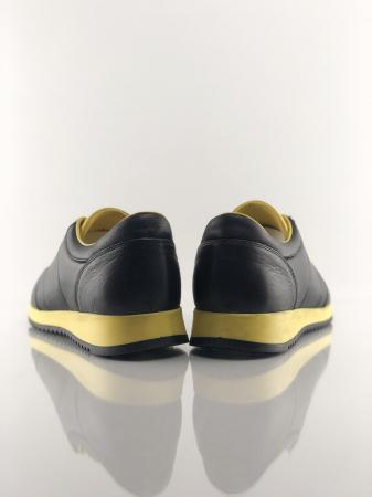 Pantofi sport din piele BLACK N YELLOW6