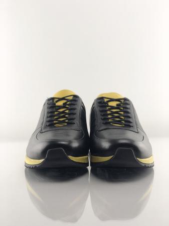 Pantofi sport din piele BLACK N YELLOW8