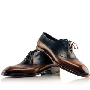 Pantofi eleganți din piele naturală MASSIMO0