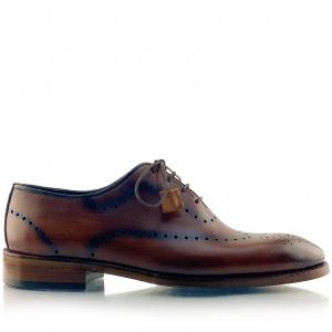 Pantofi eleganți din piele naturală Orlando Maro2