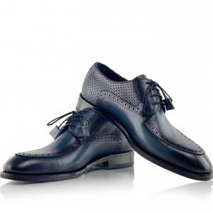 Pantofi eleganți din piele naturală ROMAN0