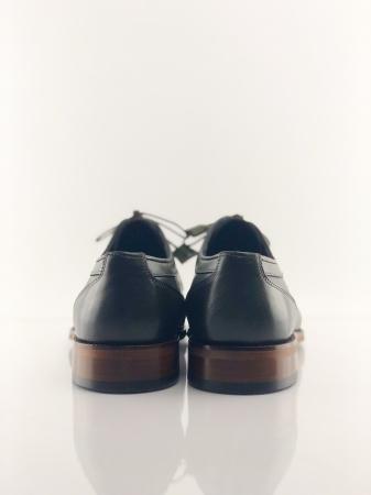Pantofi eleganți din piele naturală DAVIS - verde închis4