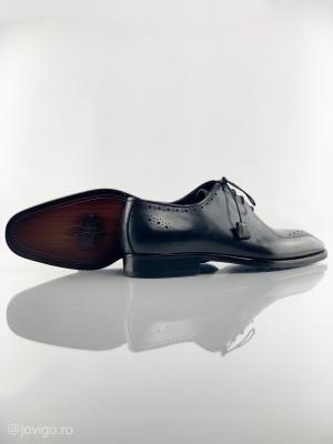 Pantofi eleganți din piele naturală ALBERTO8