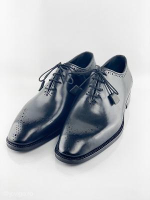 Pantofi eleganți din piele naturală ALBERTO4