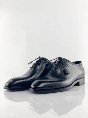 Pantofi eleganți din piele naturală ALBERTO2