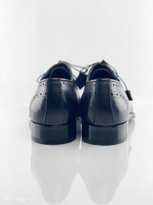 Pantofi eleganți din piele naturală ALBERTO7