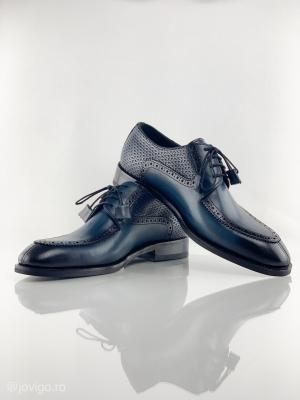 Pantofi eleganți din piele naturală ROMAN9