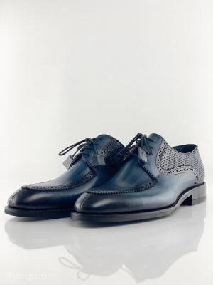 Pantofi eleganți din piele naturală ROMAN2