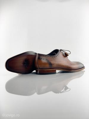Pantofi eleganți din piele naturală ERIK2
