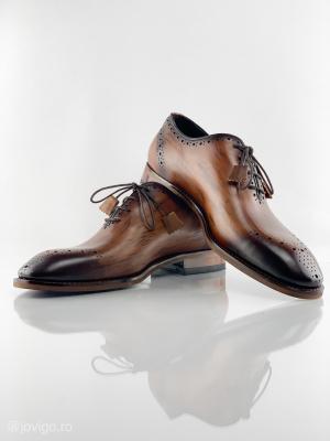 Pantofi eleganți din piele naturală ERIK9