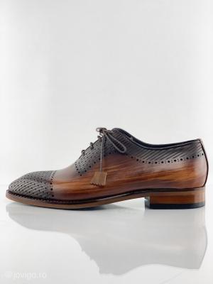 Pantofi eleganti din piele VITELLO T114