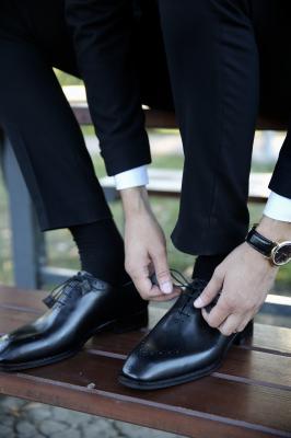 Pantofi eleganți din piele naturală ALBERTO0