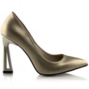 Pantofi Glory Aurii1