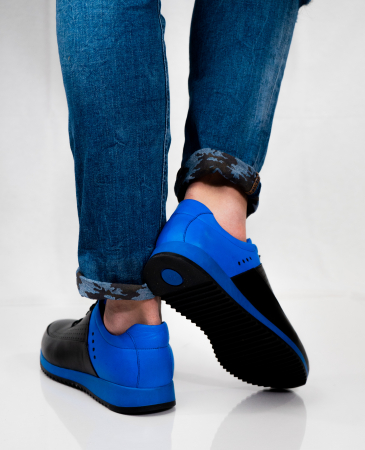 Pantofi sport din piele Blue Motion4