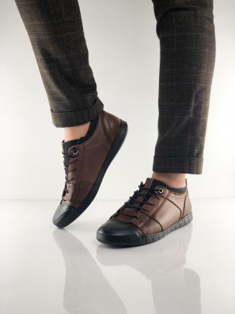 Pantofi sport din piele BROWN BEAR0