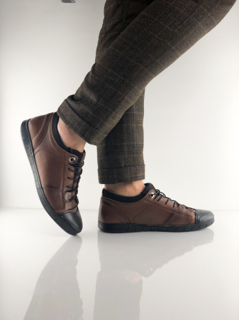 Pantofi sport din piele Brown Bear5