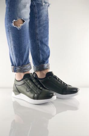 Pantofi sport din piele GREEN ARCHER0
