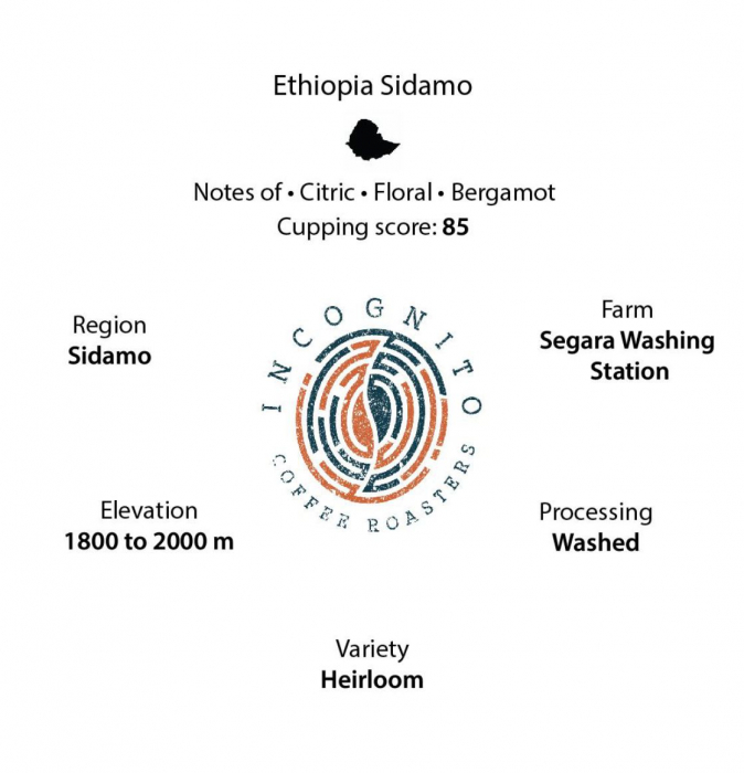 Cafea Boabe de specialitate Ethiopia Sidamo 250g [1]