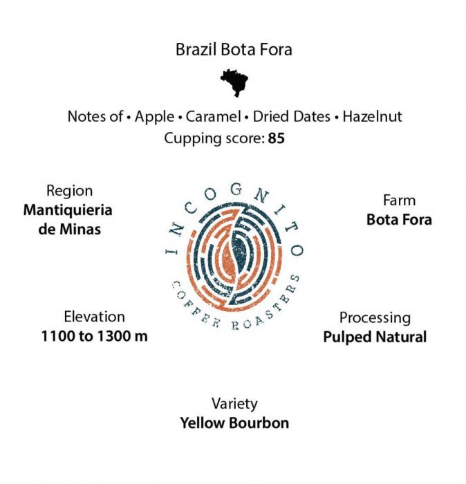 Cafea Boabe de specialitate Brazil Bota Fora 250g 1