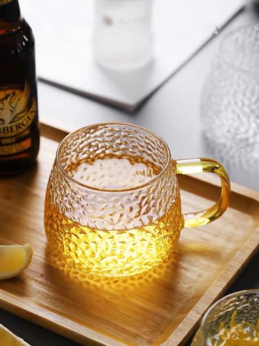 Cana din sticla Borosilicata 380 ml 3