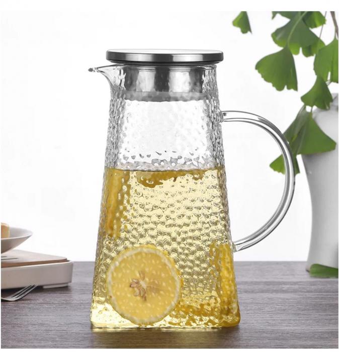 Carafa - Ceainic din sticla Borosilicata, 1,5 Litri 0