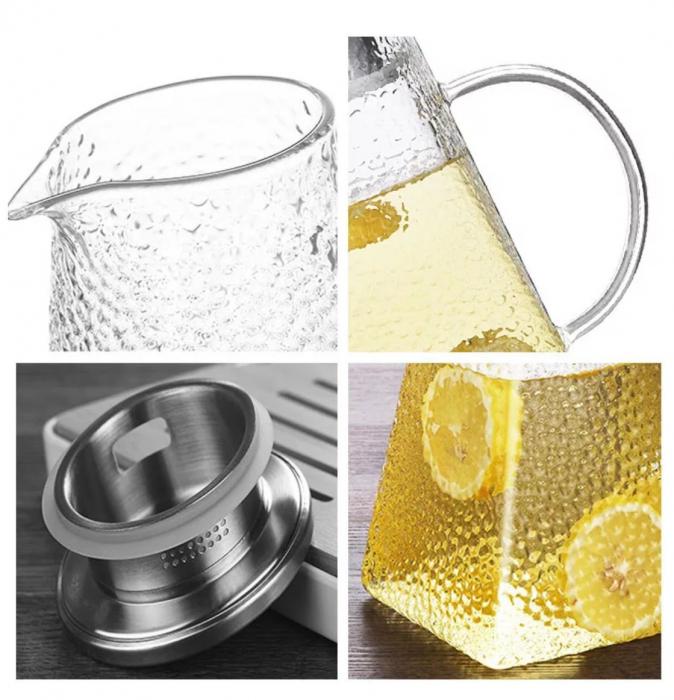 Carafa - Ceainic din sticla Borosilicata, 1,5 Litri 1