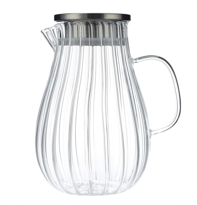 Carafa din sticla Borsilicata, cu maner din sticla, 1.5 Litri 3