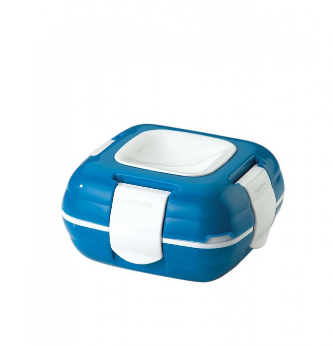 Caserola termica pentru alimente, 1 litru, Albastru 0