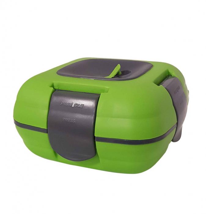 Caserola termica pentru alimente, 1 litru, Verde 0