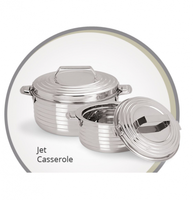 Caserola Termos din Inox JET 1.5 Litri [0]