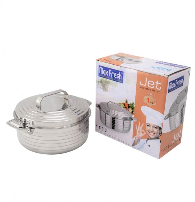 Caserola Termos din Inox JET 1.5 Litri [1]