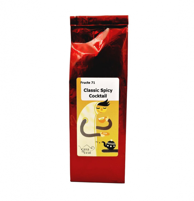 Ceai de Fructe Classic Spicy Cocktail 50 Grame 0
