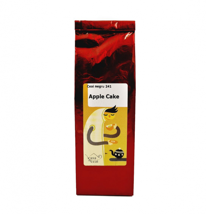 Ceai Negru Apple Cake 50 Grame [0]