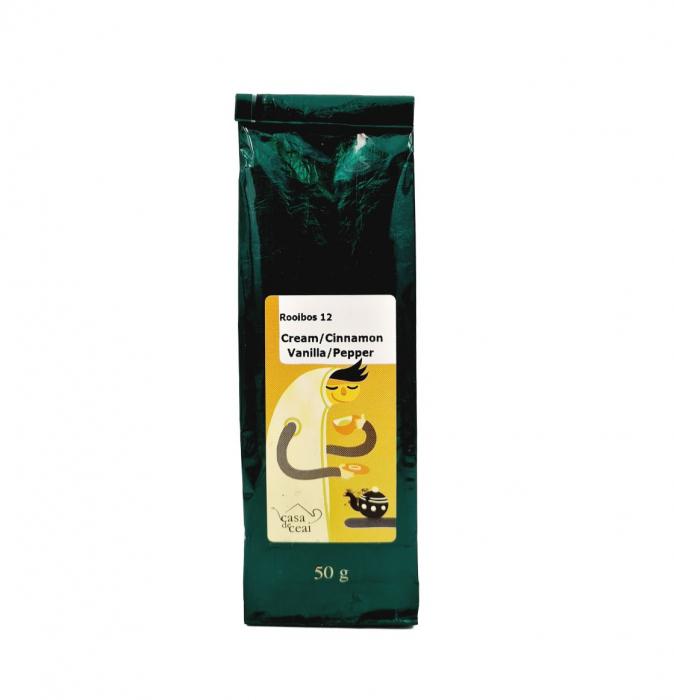 Ceai Rooibos Cream / Cinnamon / Vanilla / Pepper 50G 0