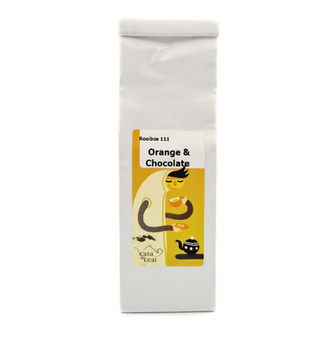 Ceai Rooibos REDBUSH ORANGE CHOCOLATE 50G 0