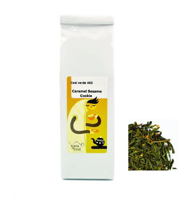 Ceai Verde Caramel Sesame Cookie 50G 0