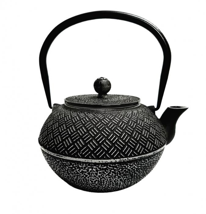 Ceainic din Fonta BLACK RICE, 1 Litru 1