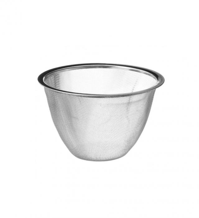 Ceainic din fonta cu infuzor detasabil, Turcoaz, 1 L 2