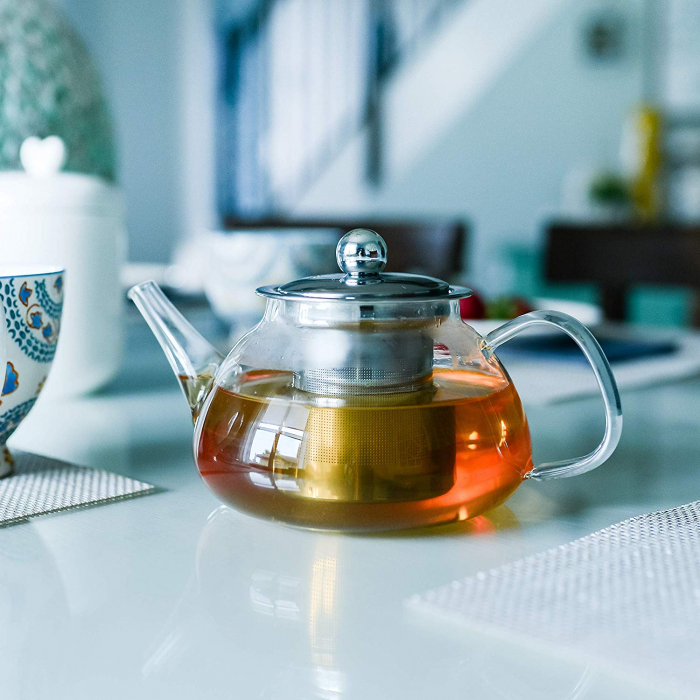 Ceainic din sticla termorezistenta, 850 ml 3