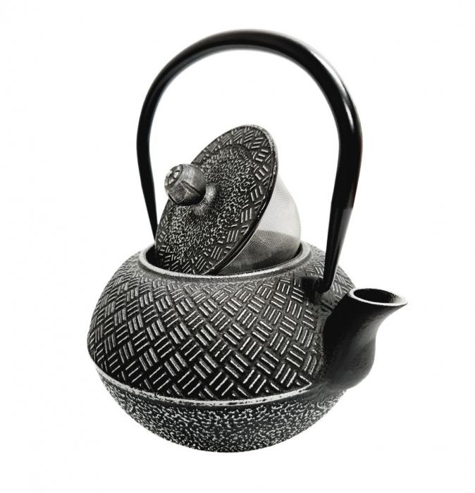 Ceainic din Fonta BLACK RICE, 1 Litru 2