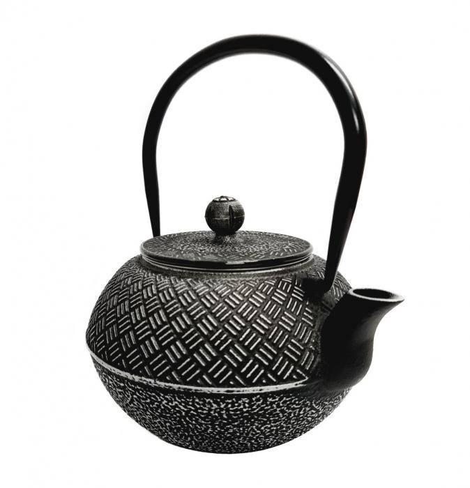 Ceainic din Fonta BLACK RICE, 1 Litru 0