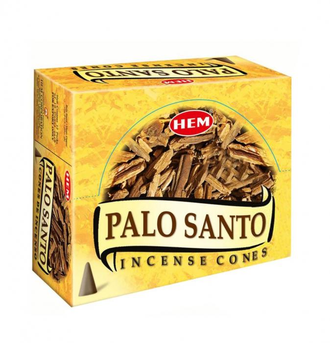 Conuri parfumate HEM PALO SANTO 10 Bucati [0]