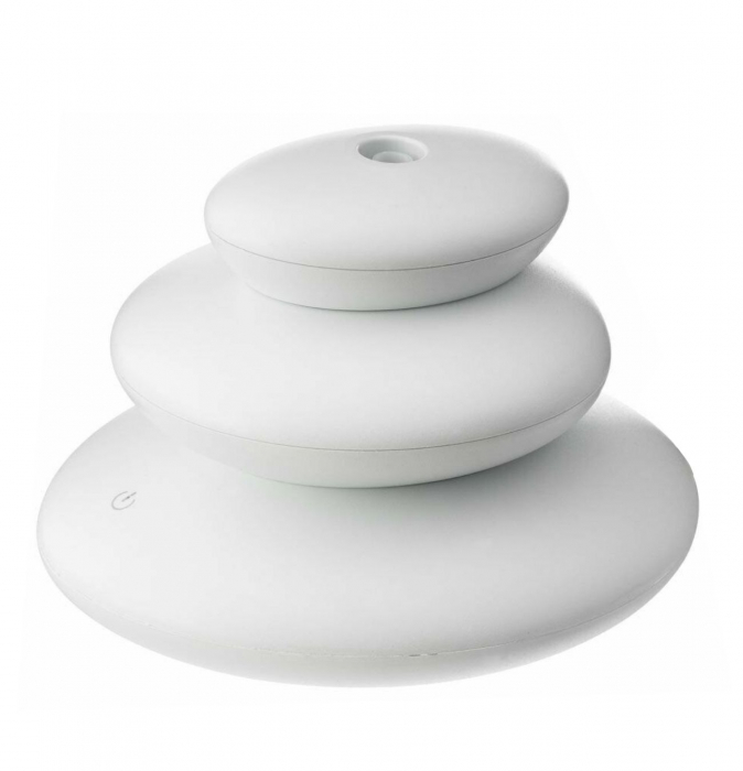Difuzor Aromaterapie Stone - White,10,7 cm 0