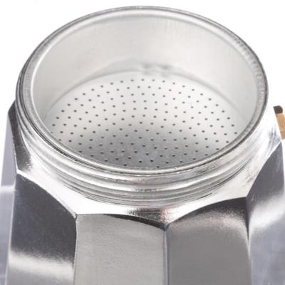 Espressor de cafea pentru Aragaz - 3 cesti, Aluminiu 2