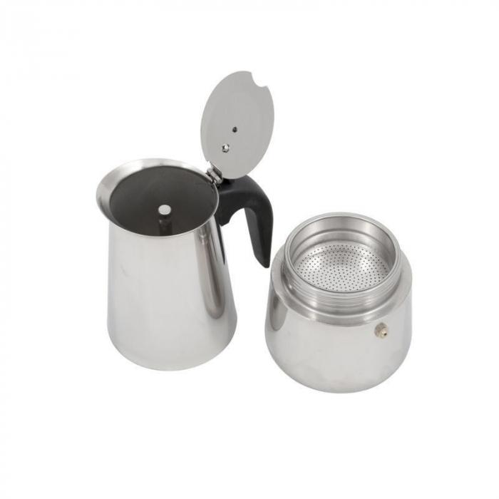 Espressor manual din Inox, 9 cupe, Grunberg 2